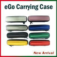 Wholesale eGo Case Small Ecig kits Colors Leather Case for ego t ego w ego c Electronic Cigarette Starter Kits E Cig Carrying Case