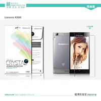 for Lenovo K900  Mirror  HK Free ship for Lenovo K900 cases Original Nillkin Prevent eye fatigue screen protector Super Clear Anti-fingerprint Protective