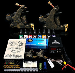 Wholesale case copper tattoo Motor Machines kits for self studying
