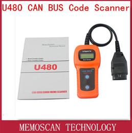 Wholesale U480 Auto Can Code Reader Scanner Motor Diagnostic Tool Car Repairing Instrument