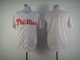 Wholesale Phillies Blank jersey Women White embroidered Pink Striped baseball Jerseys ladies fashion sports shirts top quality cheap baseball uniforms