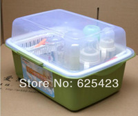 Wholesale Hot Sale New Arrival Bottle Rack Storage Box Baby Milk Bottle Tableware Safe Deposit Box Storage