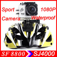 Wholesale SJ4000 Novatek P sport camera HD DV fps MegaPixels H Inch Outdoor Waterproof Sports Home Security HD DV CAR DVR