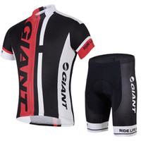 Short apparel giant bikes - 2014 New Style Red Giant Women Cycling Apparel Set Cycling Jersey Sets Short Sleeve Bicycle Body Suit Compressed Outdoor Men Bike Clothing