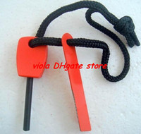 Wholesale Hot Survival Magnesium Flint Fire Steel Starter