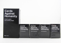 Wholesale Cards Against Humanity game UK Cards Games Bundle Base plus First Second Third and Fourth Expansion Packs