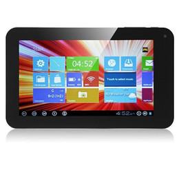 Seulement pour Russ 7 pouces WM VIA8850 tablette PC Android 4.1 512 Mo 4 Go WIFI caméra HDMI USB 3G capacitif écran tactile SIX couleurs