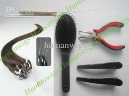 Loop Micro ring Hair Extension kits,Remy Human hair Made,HOT sell for personal used