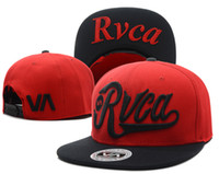 Wholesale Red Rvca stap back hats with black brim Mix order adjustable baseball caps fitted cap beanies ask me to give you photo album