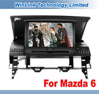1 DIN Special In-Dash DVD Player 3.5 Inch Wholesale - 7'' Car DVD GPS Navi Headunit For MAZDA 6 WAGON SPORT SEDAN 2003-2008 Free Map