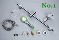 Wholesale Shower Set Wall Mounted Bathroom Accessories Bathtub Faucet Hand Shower Column Mixer Tap
