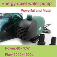Cheap Wholesale - SOBO WP-4000S 220V 55W 3500L H aquarium fish tank Submersible air water pump pond fountain filter free shipping