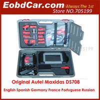 Wholesale Free Online Update Original Autel Maxidas DS708 Universal Diagnostic Scanner Multi Language