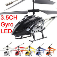 Wholesale Mini CH CM Remote Control Toys Strong Ultralight Infrared RC Helicopter With Gyro Light For Kid s Gift Freeshipping