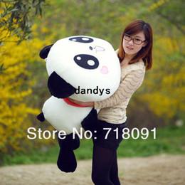 Oreillers panda en peluche en Ligne-Gratuit livraison peluche et peluche Panda retour coussin Kid #039; s dandys jouet oreiller Promotion cadeaux 8 tailles en option