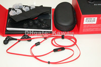 Wholesale New Arrival version in Ear Headphone with Mic ControlTalk Earphone Black white red Small package