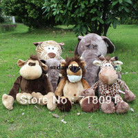 brand toys - Brand NICI Jungle Brothers Deer Stuffed Plush Toy Tiger For Children Birthday Gifts Stand Height cm pc