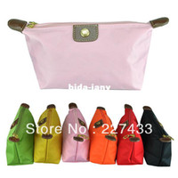 Wholesale Big Promotion Hot wateproof nylon Cosmetic Bags casual clutch and handbags purse