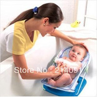 Wholesale Fashion Convenient Foldable Infant Baby Bath Shower Care Chair Tubs Freeshipping high quality
