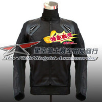 Wholesale AL motorcycle jacket oxford jacket textile jacket mens racing jacket warm lining detached come with protection gear