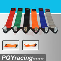 Wholesale PQY Universal Tow rope Tow Strap Racing Drift Rally Emergency Tool Red or Blue or Green or Black or Orange Or Gray
