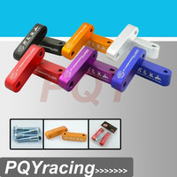 Wholesale PQY Password JDM Billet Aluminum Hood Risers For Integra For Civic