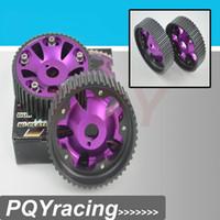 Wholesale Pair Toyota JZ JZ DOHC Engine Adjustable Aluminum Pulley Cam Gear Purple