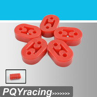 Wholesale Red Polyurethane Exhaust Muffler HANGERS universal type2