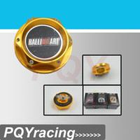 Wholesale For MITSUBISHI RALLIART BILLET ENGINE OIL CAP NEW GOLD BLACK SILVER RED