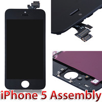 For Apple iPhone   Black Replacement LCD Display Touch Screen Digitizer Assembly For Apple iPhone 5