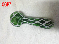 Wholesale Cheap Glass Smoking Pipe Glass Spoon Pipe Glass Hand Pipe Water Smoking Pipe pc