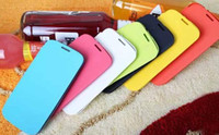 Cheap For Samsung PU leather flip cover Best Plastic  case with back battery