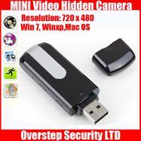 Wholesale 10 pieces USB Flash Drive Hidden Camera Motion Detection Mini DVR Entertainment Digital Vedio Mini USB Camera U8