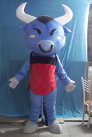 Wholesale Blue water buffalo Mascot Adult Costume G3574