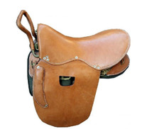 Wholesale 2012 NEW High quality quot Set Horse Saddles set amp Brown