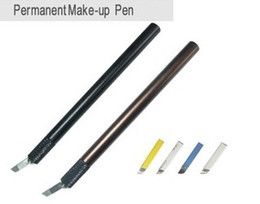 Manual eyebrow permanent makeup pen tattoo machine Microblading Munsu Tebori Pen by free shipping