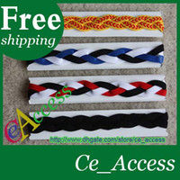 Wholesale Stretchy NON SLIP Softball Basketball Volleyball Braided Headbands