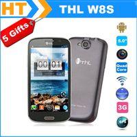 ThL W8 más allá de Smartphone W8S MTK6589T 1.5GHz 5.0 & quot; 1920 * 1080 Corning Gorilla 1 16 Android 4.2 frente 5MP Back13.0MP envío gratis