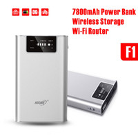 Wholesale 3G WIFI Wireless Router HAME F1 mAh Mobile power bank mAh Battery