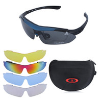 Wholesale Outdoor Sports Bike Bicycle Cycling Sunglasses UV400 Polarized glasses Replaceable Lenses Unisex H9688
