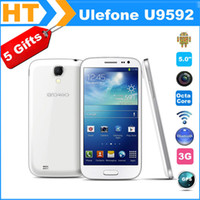 "5.0 Android 2G Two Battery+5Gifts! Ulefone U9592 PAD Phone MTK6592 1.7Ghz Octa Core 2GB RAM 16GB ROM 5.0"" IPS 854*480 Front 5MP Rear 13MP +Case"