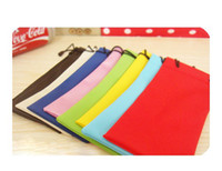 Wholesale 100pcs SunGlasses Pouch Microfiber Bag Soft Cleaning Case Soft waterproof Cloth Dust bag glasses Pouches Leather cm AAA