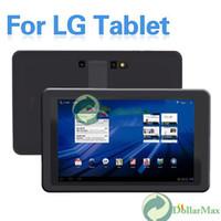 Wholesale New arrive Color Silicone Skin Case for LG V909 G Slate V900 Optimus Pad Tablet PC