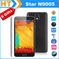 5.5 Android 512M Star Ulefone N9005 5.5 Inch 960x540 Screen Android 4.2.2 Smart Phone MTK6582 1.3GHz Quad Core 512MB RAM 4GB ROM Camera 8MP + GPS