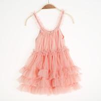 TuTu Summer tutu  wholesale girl summer lace princess dress kids clothes 5pcs lot