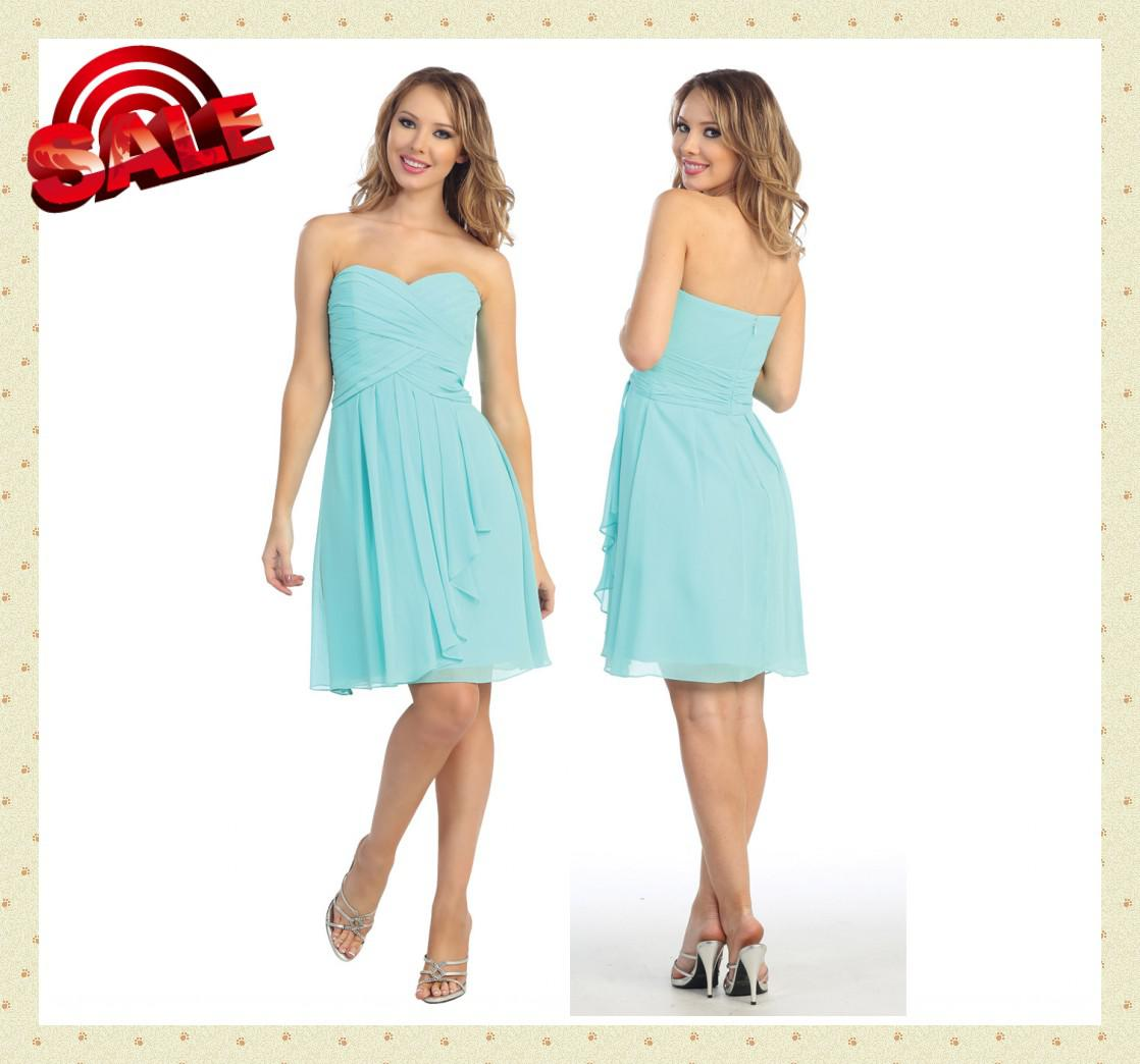 Dn summer beach junior bridesmaid dresses sweetheart for Junior wedding guest dresses for summer