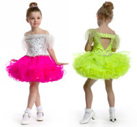 Reference Images Toddler Applique Elegant high quality cute cupcake little girls' pageant dresses organza ruffles sequins beaded furs short mini kids' formal party ball gowns