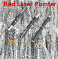 Wholesale 5MW nm Red Light Beam Laser Pointer Pen SOS Mounting Night Hunting Teaching Lights Pointers Without Package Free DHL FEDEX Shipping