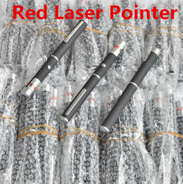 5MW 532nm Red Light Beam Laser Pointer Pen SOS Mounting Night Hunting Teaching Lights Pointers Without Package Free DHL FEDEX Shipping