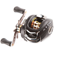 fishing reel - 12BB Right Hand Bait Casting Fish Fishing Reel baitcasting Ball Bearings One way Clutch High Speed Black For Outdoor Sports H9702